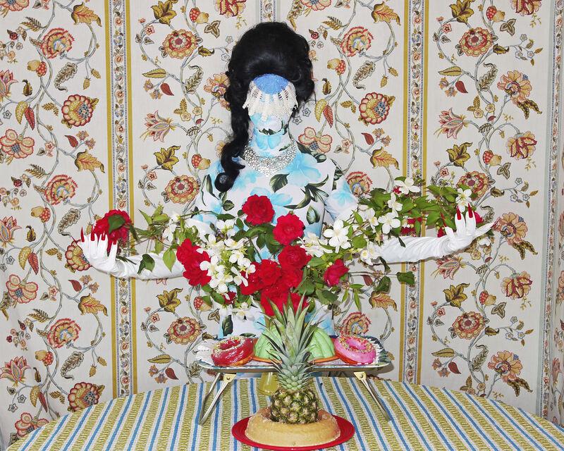Kat Toronto (Miss Meatface), 'Demure Debutante', 2017, Print, Dye sublimation on aluminum, The Watermill Center Benefit Auction