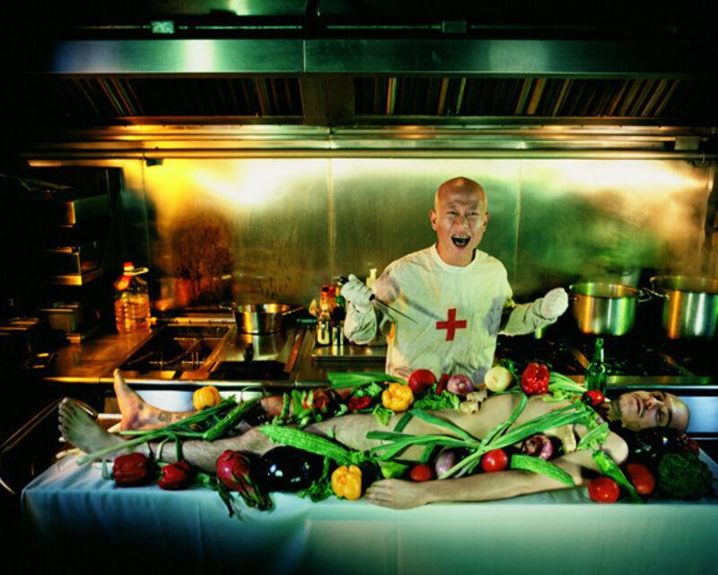 Hugo Tillman, 'Liu Wei the Older', 2006, Photography, C-print on Fujiflex paper, Nohra Haime Gallery