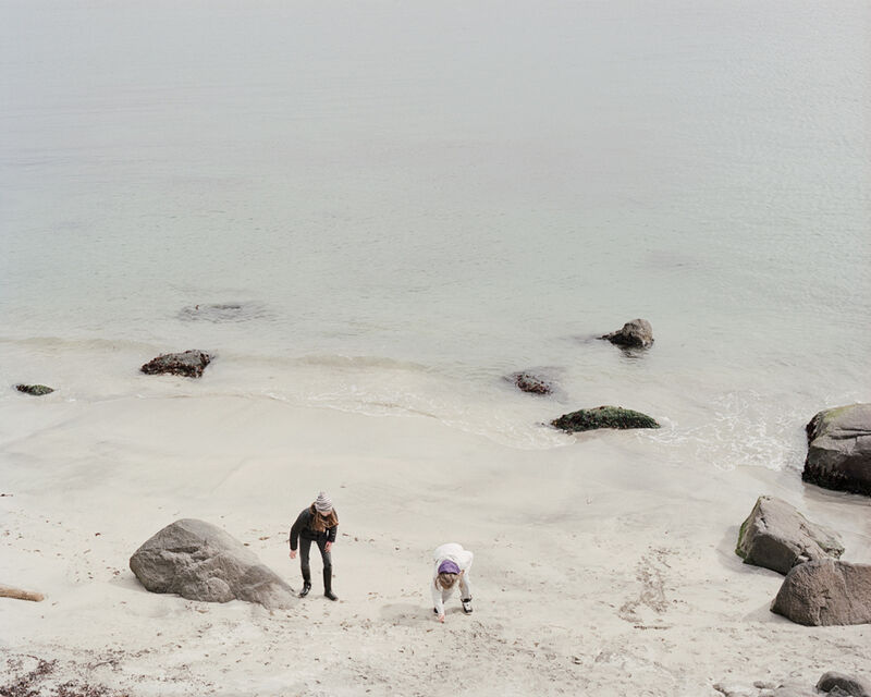 Benjamin Rasmussen, 'Girls Play on the Beach, Faroe Islands', Photography, Archival Inkjet Print, Pictura Gallery