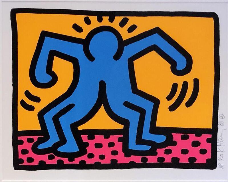 Keith Haring, 'Pop Shop II (A)', 1988, Print, Screenprint, Hamilton-Selway Fine Art Gallery Auction