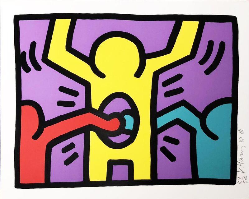 Keith Haring, 'Pop Shop I (C)', 1987, Print, Screenprint, Hamilton-Selway Fine Art Gallery Auction