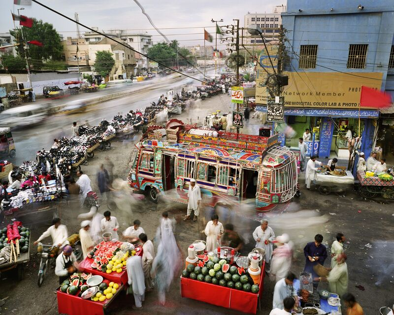 Martin Roemers, 'New M.A. Jinnah Road, Saddar Town, Karachi, Pakistan ', 2011, Photography, Archival pigment print on Bonjet Atelier Fibre Paper with Epson Ultrachrome K3 ink, East Wing