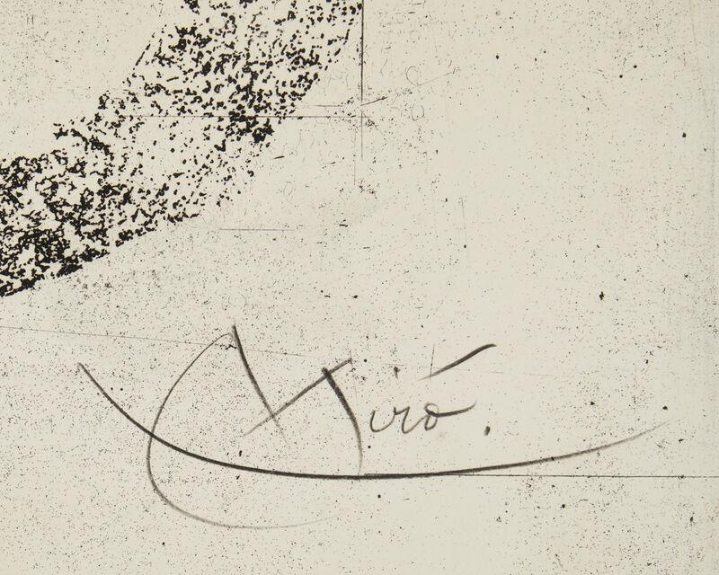 Joan Miró, 'L'Astre du Marecage', 1967, Print, Color aquatint with carborundum on paper under glass, Maeght Éditeur, Paris, pub., John Moran Auctioneers
