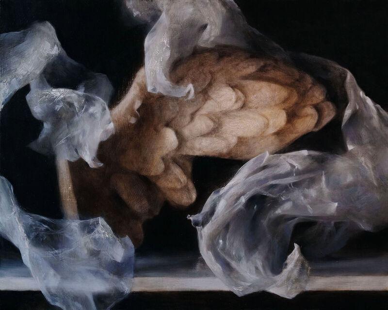 Sadie Valeri, 'Desire', 2021, Painting, Oil on linen board, Lily Pad West