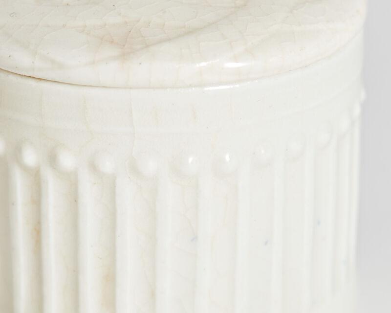 Taxile Doat, 'Corinthian Pill Box', ca. 1900, Design/Decorative Art, Porcelain, Jason Jacques Gallery