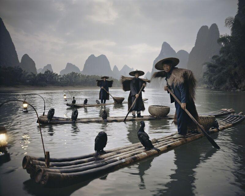 Jimmy Nelson, 'XXII 467, Yangshuo Cormorants, China', 2005, Photography, Chromogenic color print, Bryce Wolkowitz Gallery