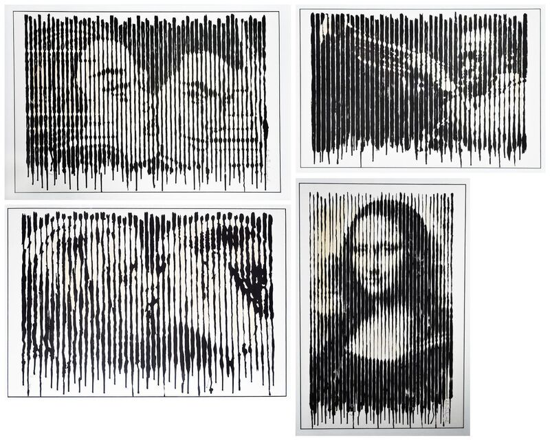 Mr. Brainwash, 'Line Prints (Set of 4)', 2009, Print, Screenprint, Artsy x Tate Ward