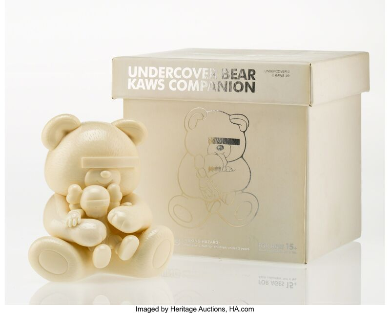 KAWS, 'Companion, Undercover Bear (White)', 2009, Other, Cast vinyl, Heritage Auctions