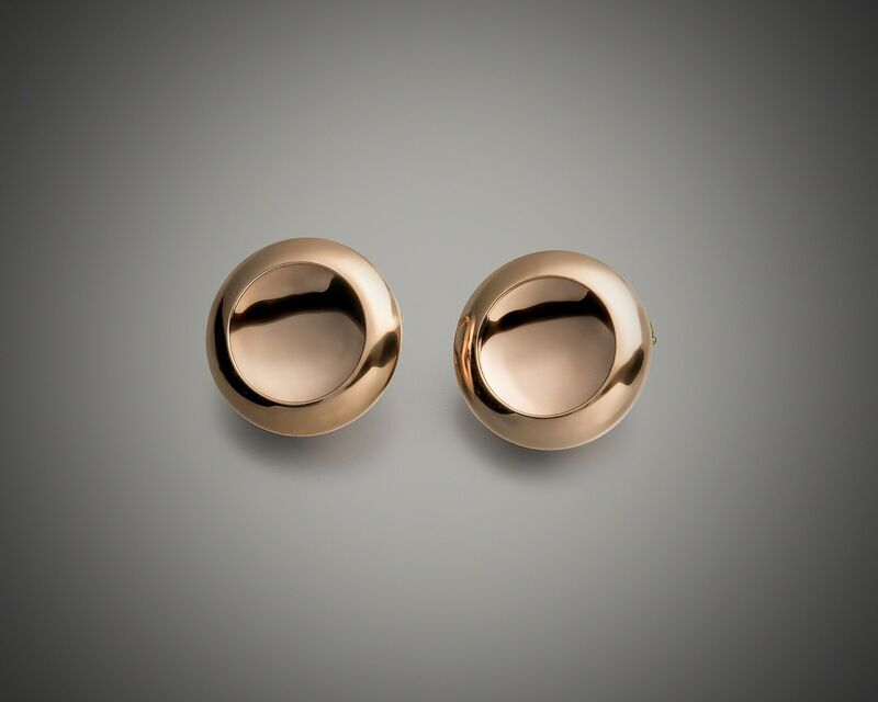 Anish Kapoor, 'Water Earrings, Form I', 2014, Jewelry, 18k rose gold, Louisa Guinness Gallery
