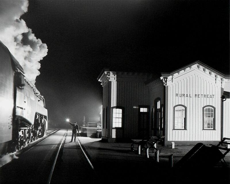 O. Winston Link, 'Birmingham Special, Rural Retreat, VA', 1957, Photography, Gelatin Silver Print, Danziger Gallery