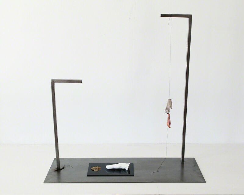 Bruno Gruppalli, 'La función de los días', 2015, Sculpture, Hierro, diversos materiales., María Casado