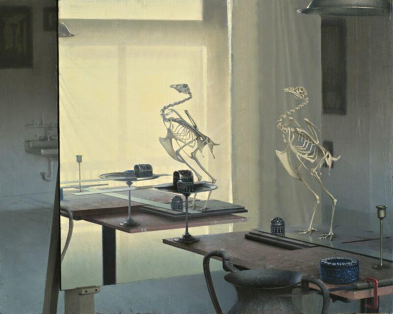 Daniel Sprick, 'Interior with Bird', 2013, Painting, Oil, Gallery 1261