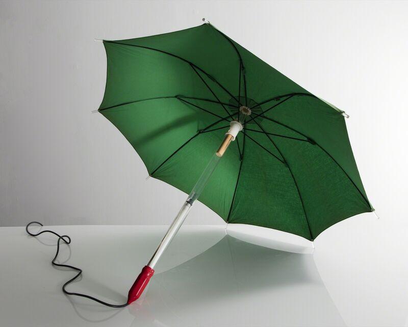 Lapo Binazzi, 'Illuminated wearable umbrella sculpture', 1987, Design/Decorative Art, Plastic, Metal, Fabric, R & Company