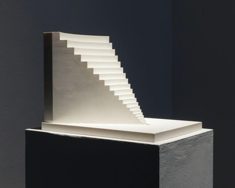 Diemut Strebe, 'Le Scale della Divina Commedia (from Wigner's Friends)', 2015, Sculpture, 3D printed PVC model, Ronald Feldman Gallery