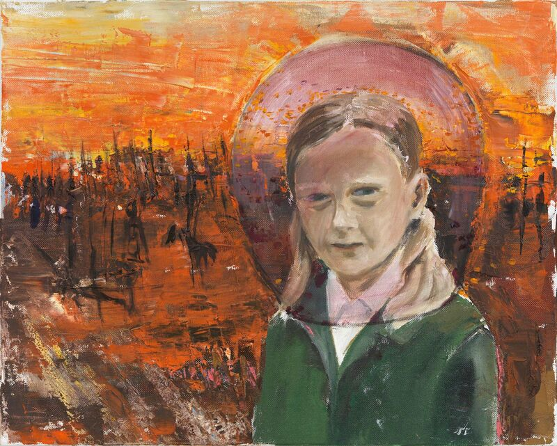 Amelie von Wulffen, 'Untitled (the lowest point of my childhood)', 2014, Painting, Oil on Canvas, Freedman Fitzpatrick
