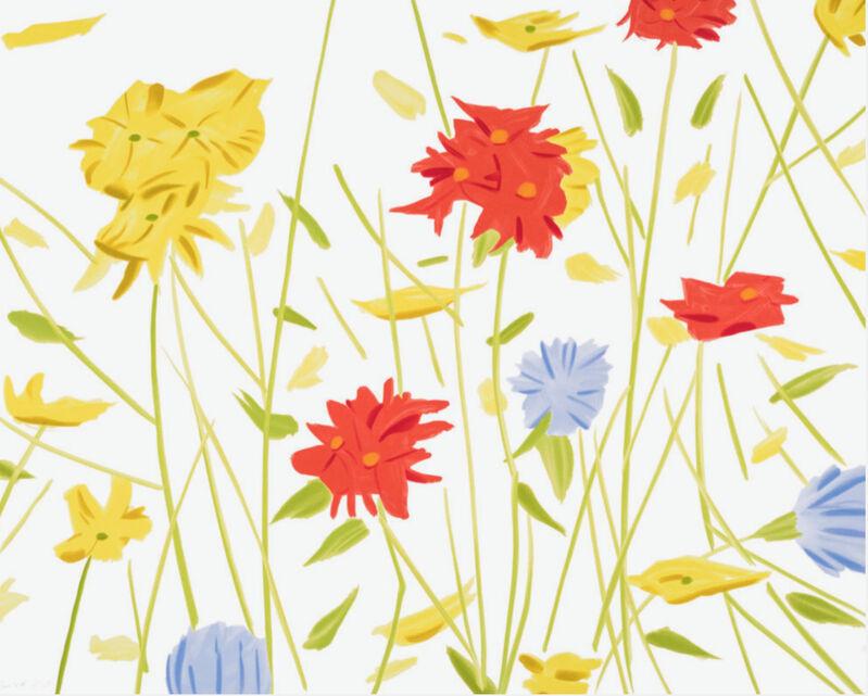 Alex Katz, 'Wildflowers', 2017, Print, Screenprint, Dallas Collectors Club