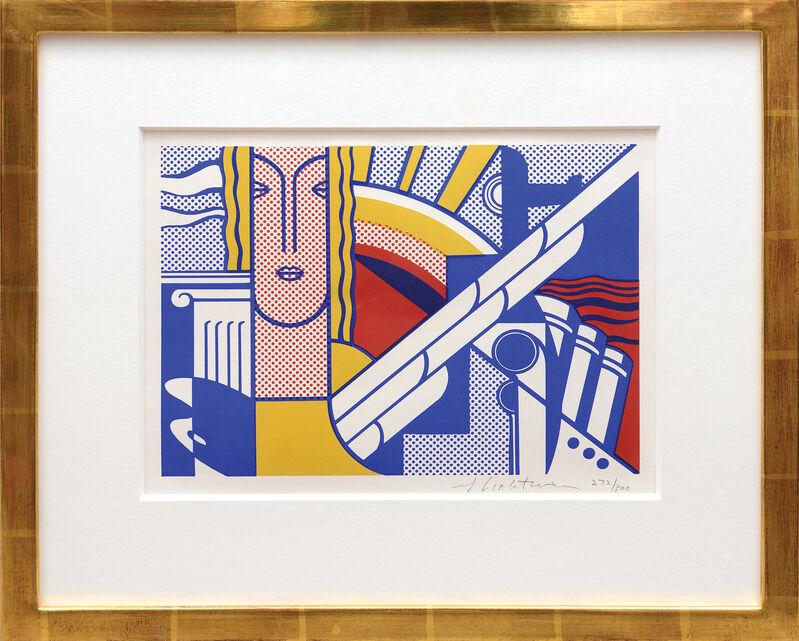 Roy Lichtenstein, 'Modern Art Poster', 1967, Print, 3 colour screenprint on ivory wove paper, Peter Harrington Gallery