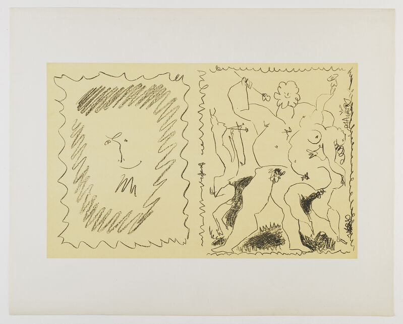 Pablo Picasso, 'Bacchanal', 1956, Print, Lithograph printed in black, Frederick Mulder