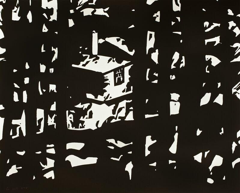 Alex Katz, 'Maine Woods III', 2016, Print, 1-color woodblock on Somerset textured 500 gsm paper, Frank Fluegel Gallery