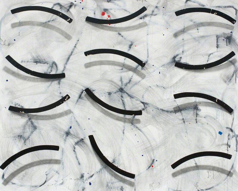 Cole Morgan, 'Ship Curves', 2016, Painting, Mixed media, Gallery Jones