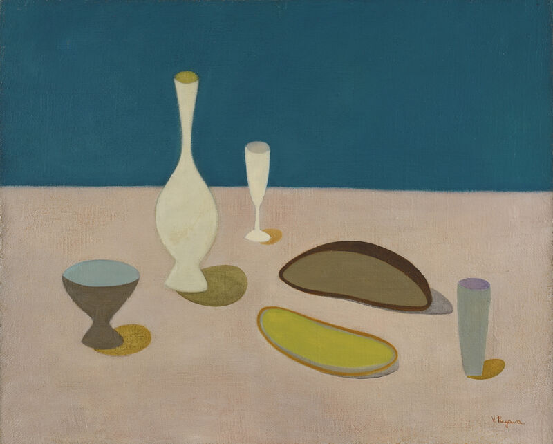 Vera Pagava, 'Nature morte sur une table', 1945-1950, Painting, Oil on wood, Jeanne Bucher Jaeger