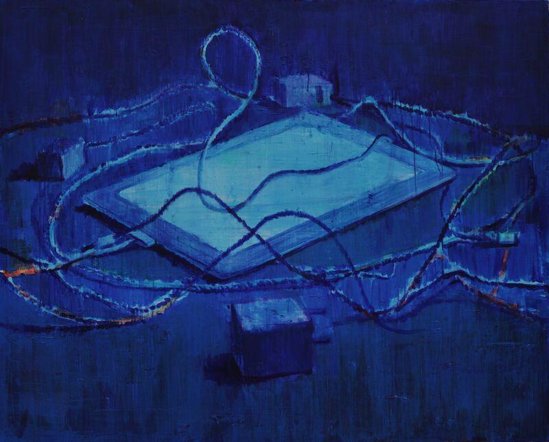 Cai Zebin, 'A faint light in the corner', 2014, Painting, Acrylic on canvas, Nuoart