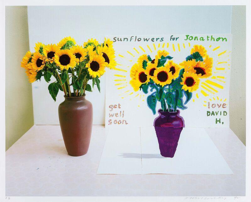 David Hockney, 'Photography is dead, Long live painting', 1995, Print, Colour inkjet-print on card, Van Ham