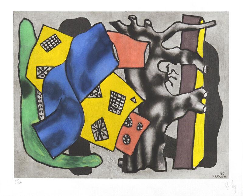 Fernand Léger, 'La Racine Grise (The Gray Root)', ca. 1953, Print, Color Lithograph, Masterworks Fine Art
