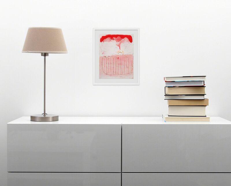 Anya Spielman, 'Cream Puff (Abstract painting)', 2009, Painting, Oil on paper, IdeelArt