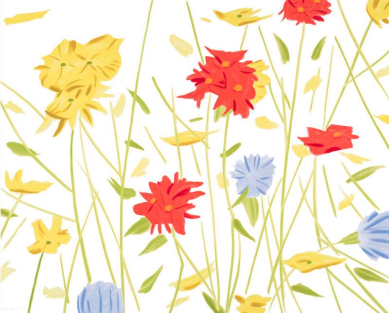 Alex Katz, 'Alex Katz, Wildflowers', 2017, Print, Silkscreen, Oliver Cole Gallery