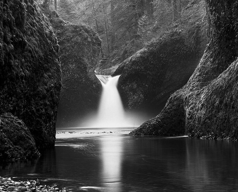 Stu Levy, 'Punch Bowl Falls, Oregon ', 1981, Photography, Silver Gelatin Print, Gallery 270