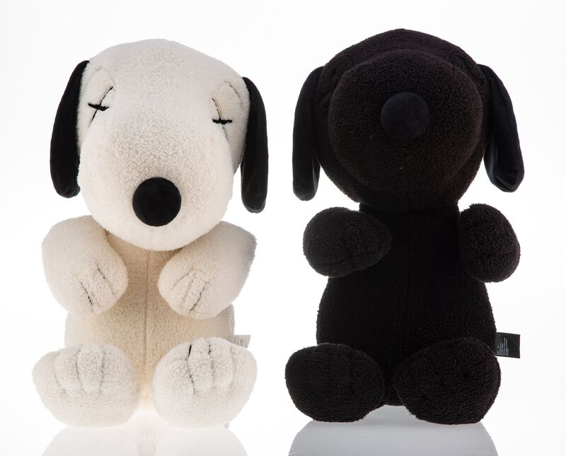 KAWS, 'Snoopy (two works)', 2017, Ephemera or Merchandise, Polyester plushes, Heritage Auctions