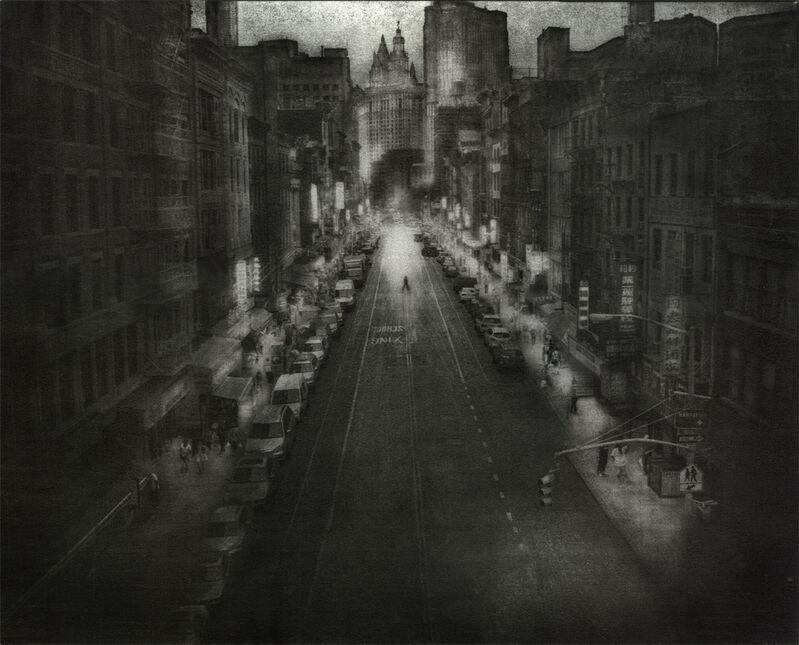 Peter Liepke, 'Walking Downtown', 2011, Photography, 8x10 Platinum/Palladium    16x20 Gum Bichromate, Gallery 270