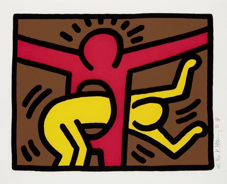 Keith Haring, 'Pop Shop IV (Littman p.147)', 1989, Print, Screenprint in colours, Forum Auctions