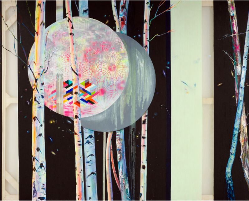 Anne Wölk, 'Moonlight Sonata', 2013, Painting, Oil on fabric, Alfa Gallery