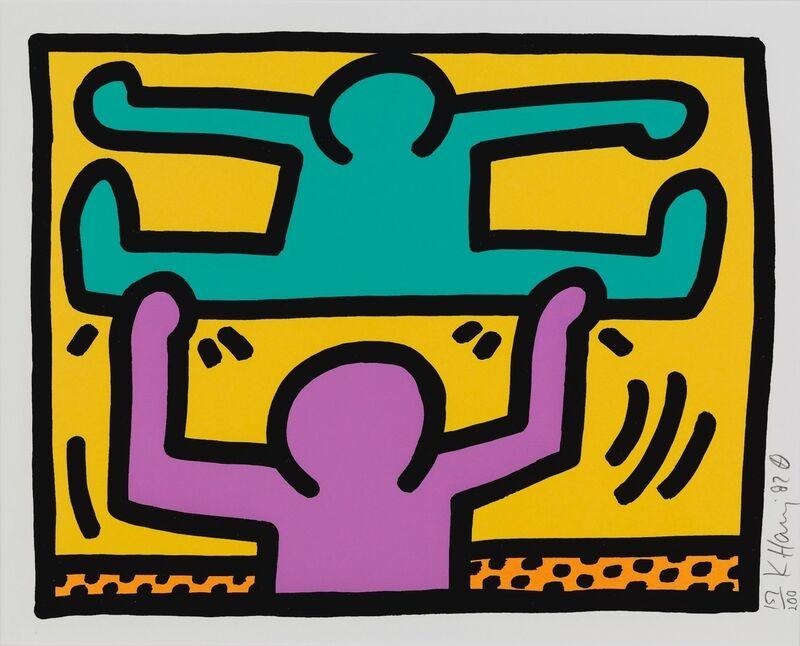 Keith Haring, 'Pop Shop I (D)', 1987, Print, Silkscreen, Hamilton-Selway Fine Art