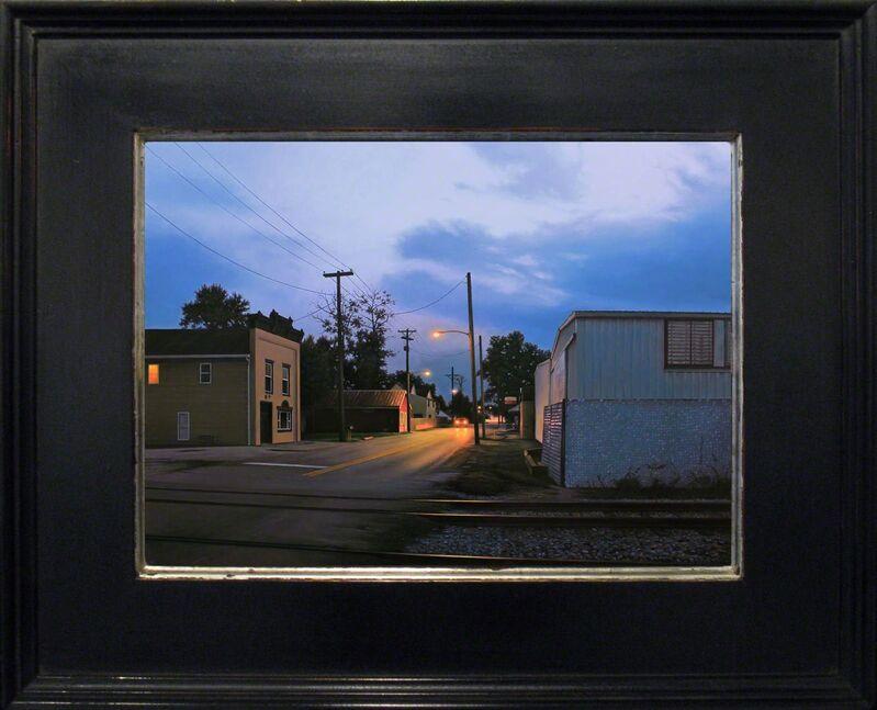 Matthew Cornell, 'Traveler', 2015, Painting, Oil on panel, ARCADIA CONTEMPORARY