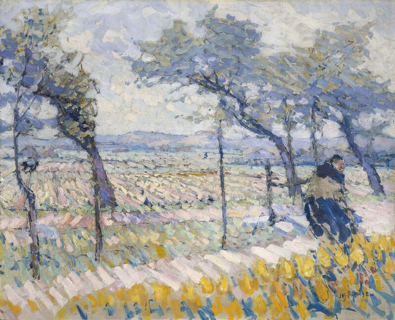 Joseph M. Raphael, 'Spring Winds', 1914, Painting, Oil on canvas, de Young Museum