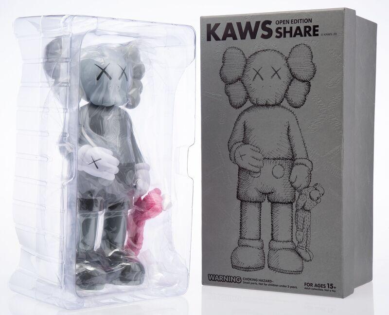 KAWS, 'Share (Grey)', 2020, Sculpture, Painted cast vinyl, Heritage Auctions