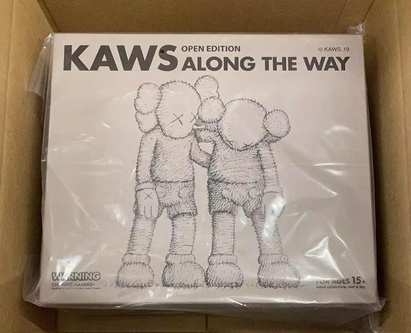 KAWS, 'KAWS Along The Way (KAWS brown companion)', 2019, Sculpture, Vinyl Paint, Cast Resin, Lot 180