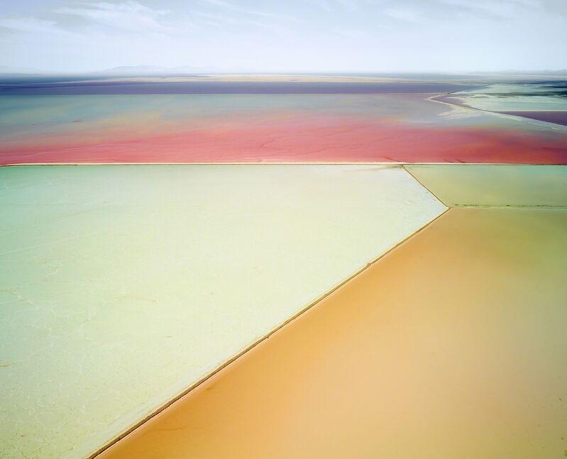 David Burdeny, 'Saltern Study 01, Great Salt Lake, UT', 2015, Photography, Épreuve couleur / C-print, Galerie de Bellefeuille