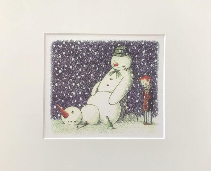 Banksy, 'Rude Snowman ', 2006, Other, Original Card, Leonards Art