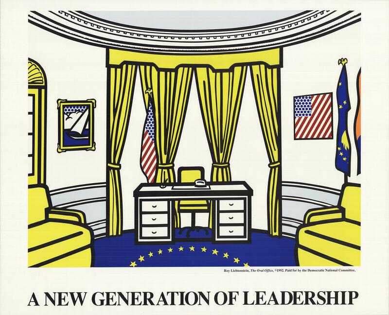 Roy Lichtenstein, 'Oval Office', 1992, Ephemera or Merchandise, Serigraph, ArtWise