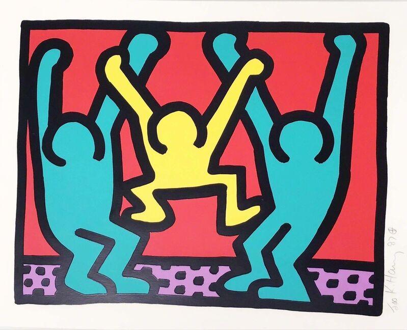 Keith Haring, 'Pop Shop I (B)', 1987, Print, Screen print on paper, Hang-Up Gallery