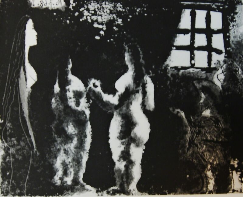 Pablo Picasso, 'En Pensant à Goya: Femmes en Prison (Thinking About Goya : Women in Prison)', 1968, Print, Aquatinit on paper, Baterbys