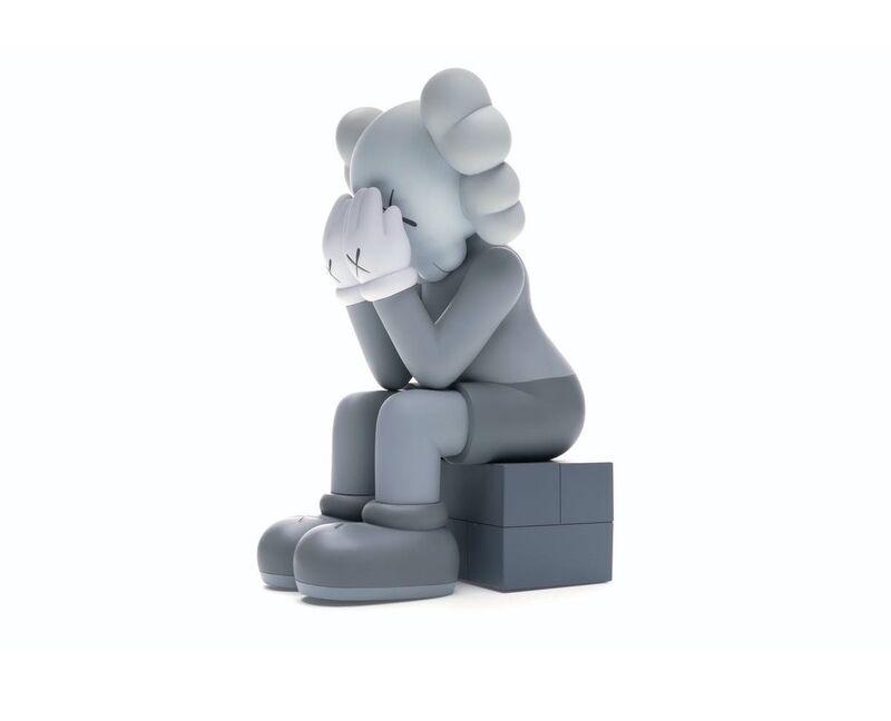 KAWS, 'Passing Through Open Edition Vinyl Figure Grey', 2018, Sculpture, Painted Vinyl, ArtLife Gallery