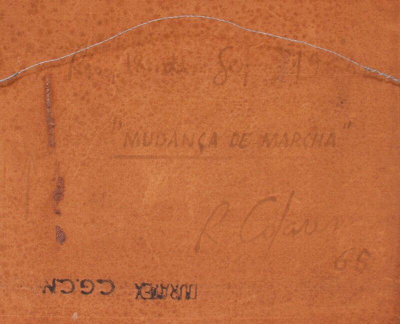 Raymundo Colares, 'Mudança de Marcha', 1965, Painting, Enamel over Duratex, Graphos