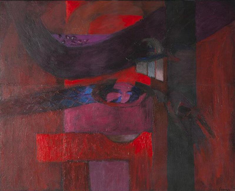 Fernando de Szyszlo, 'Ceremónia', 2013, Painting, Acrylic on Canvas, Durban Segnini Gallery
