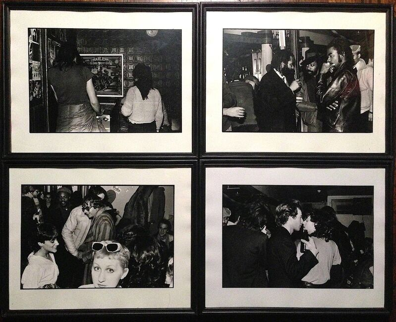 Paul Garrin, 'St. Marks Bar, New York City', 1980, Photography, Silver gelatin print, IFAC Arts