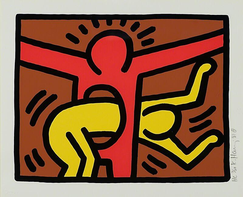 Keith Haring, 'Pop Shop IV', 1989, Print, Screenprint in colors (framed), Rago/Wright